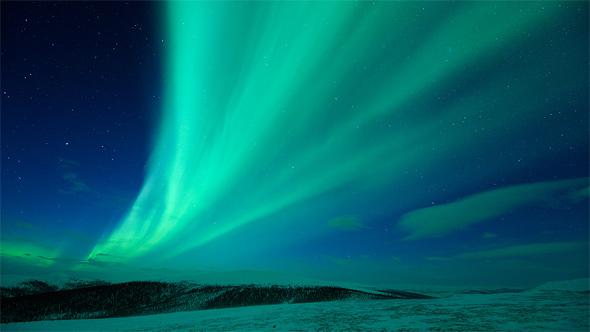 aurora borealis sina boja
