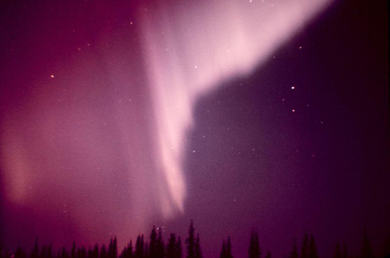 foto rozeva polarna svetlina