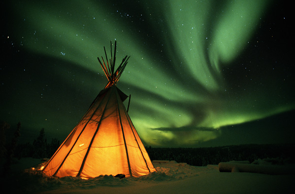 kanada sator aurora borealis