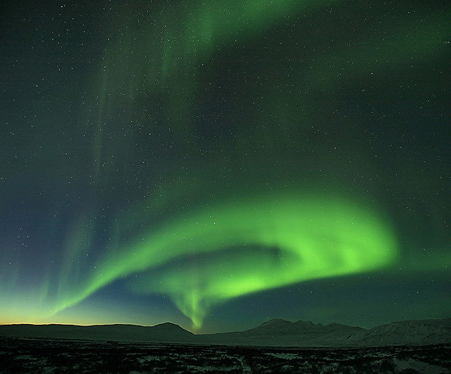 misterija polarna svetlina