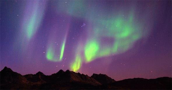 prirodni ubavini polarna svetlina