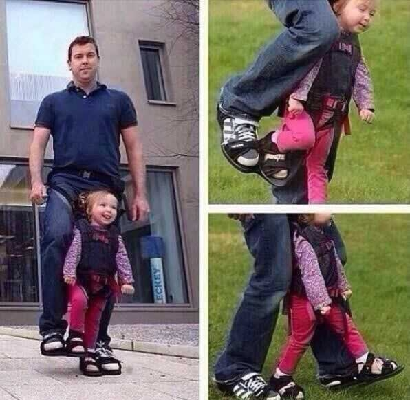 Неговата ќерка е неподвижна  Погледнете што направи татко и за неа
